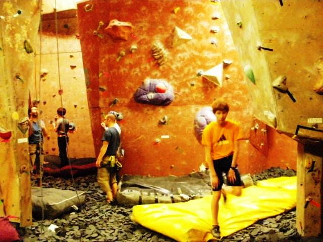 More bouldering walls