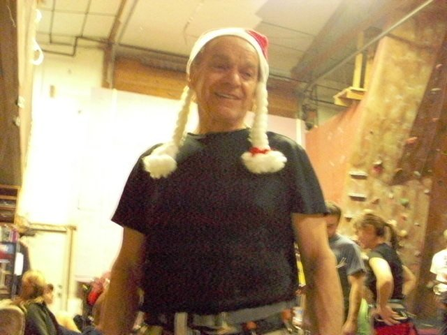 Joe is 75 years old and climbs 3 days a week!!