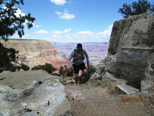 Uphill running - Grand Canyon