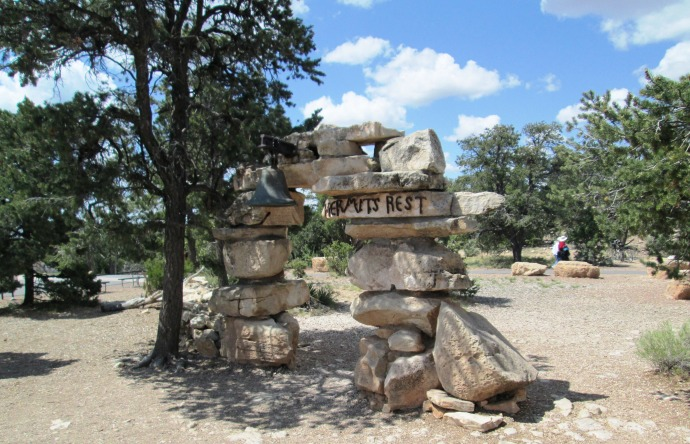Hermits Rest Trailhead