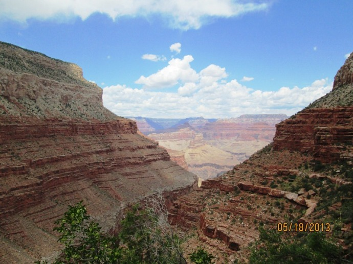The Hermit Trail is less Travelled and loaded with Spectacular Views!!!