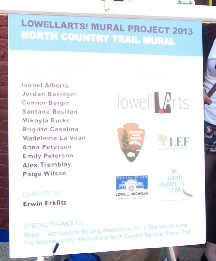 Names of the Mural Artists