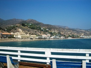 Malibu Beach from the Pier!
