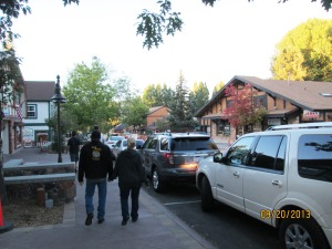 Downtown Big Bear Lake