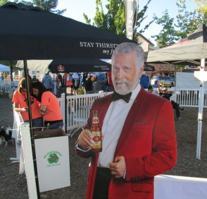 Most interesting man in the world attending the Kodiak 100